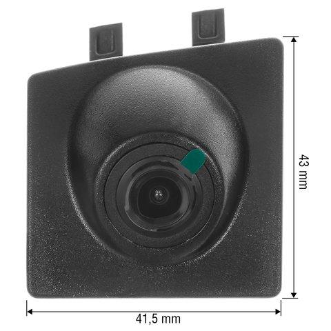 Камера переднего вида для BMW X3/X4 2015-2016 г.в. Превью 1