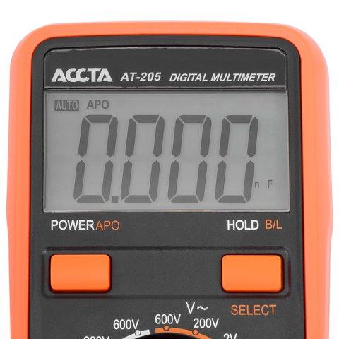 Цифровий мультиметр Accta AT-205 Прев'ю 8