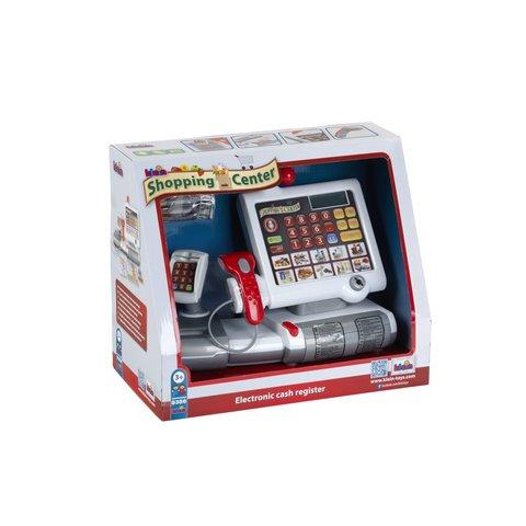 Детский кассовый аппарат со сканером, картридером и сенсорной панелью Klein Превью 1