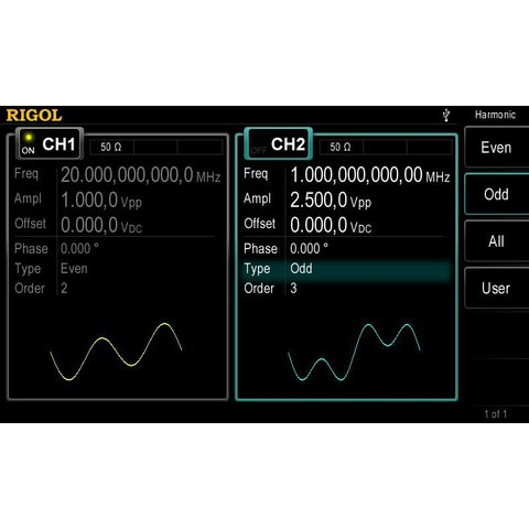 Arbitrary Waveform / Function Generator RIGOL DG4062 Preview 6