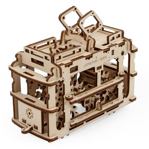 Mechanical 3D Puzzle UGEARS Premium Collection Preview 1