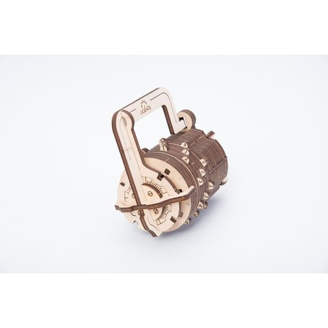 Mechanical 3D Puzzle UGEARS Combination Lock Preview 1
