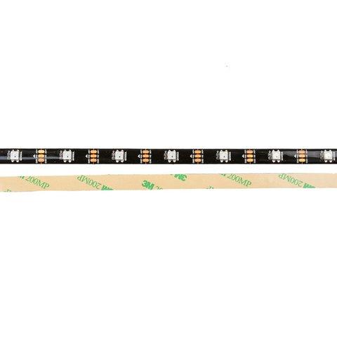 Tira de luces LED RGB SMD5050, WS2812B (negra, con controles, IP56, 5 V, 30 diodos LED/m, 5 m) - Vista prévia 2